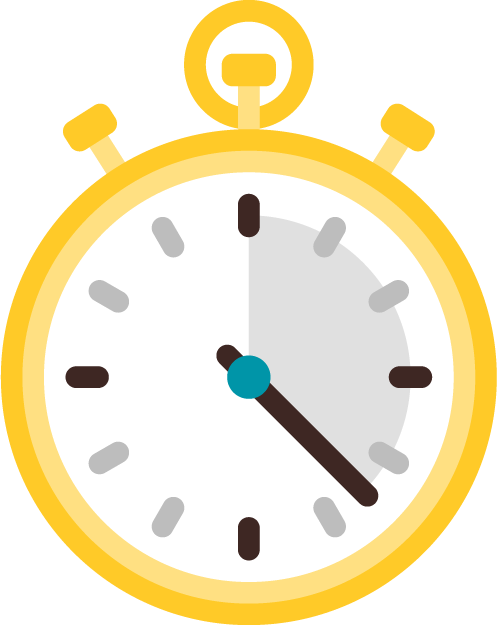 picto illustrant le module temps et activité